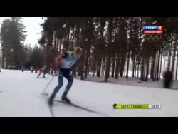 2014 02 02 Биатлон Чемпионат Европы 2014 Гонка преследования Мужчины Нове Место