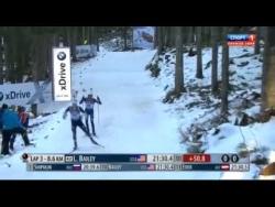 Биатлон  Кубок мира 2014 2015 3 этап спринт мужчины  Поклюка Словения 19 12 2014