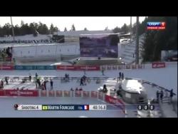 Биатлон 2014 2015  Индивидуальная гонка Мужчины  12 02 2015  Холменколлен Норвегия